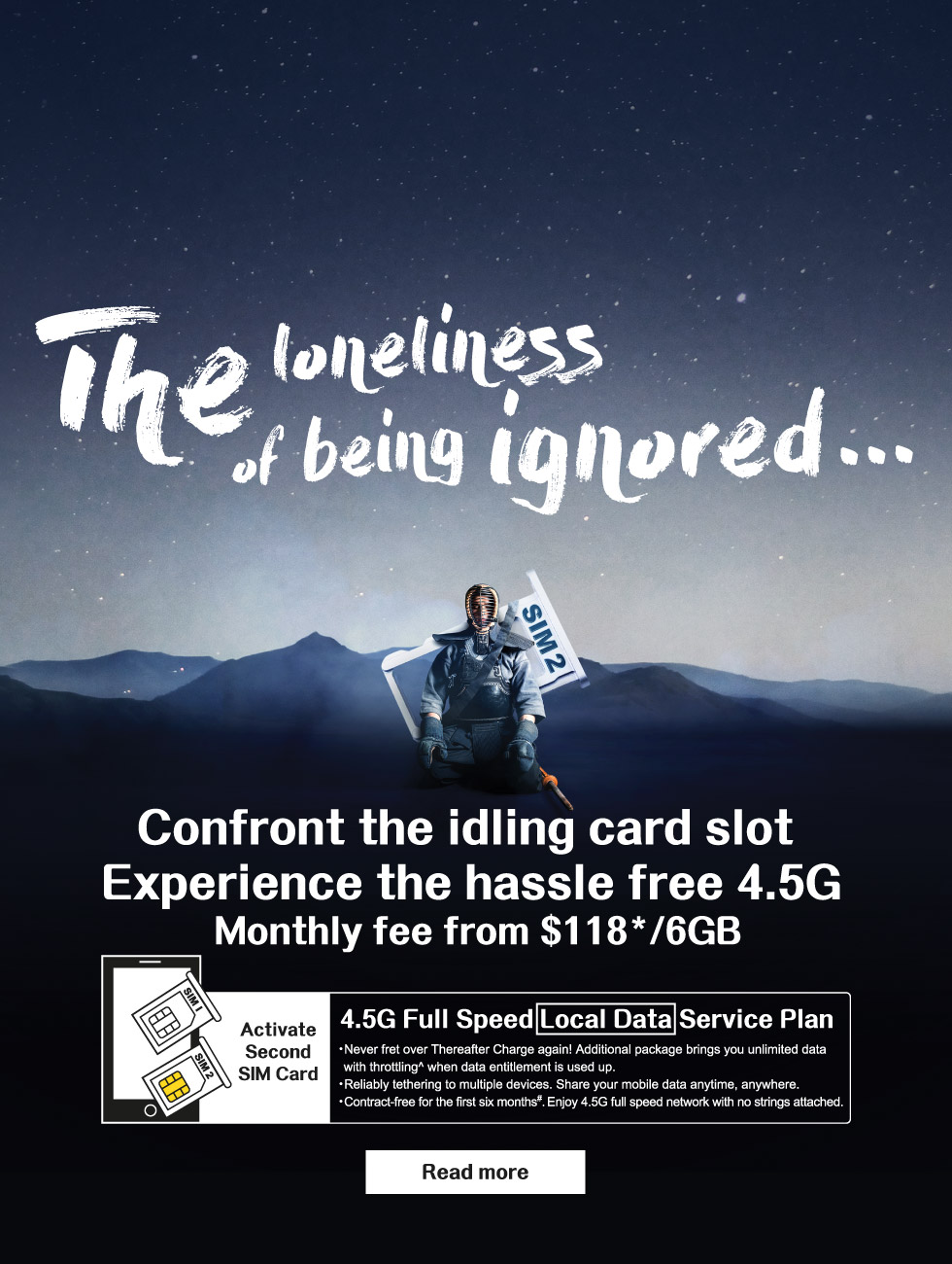 4 5G Full Speed Local Data Service Plan
