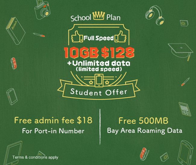 School 4 5G Full Speed Local Service Plan